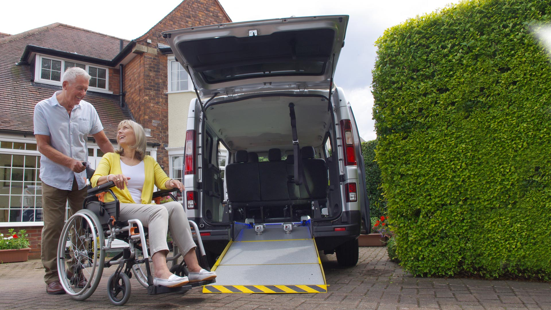 Wheelchair accessible vehicles from a name you can trust