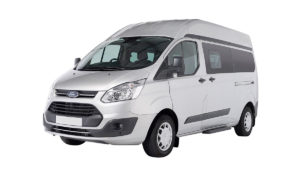 Ford Transit Custom with automatic gearbox