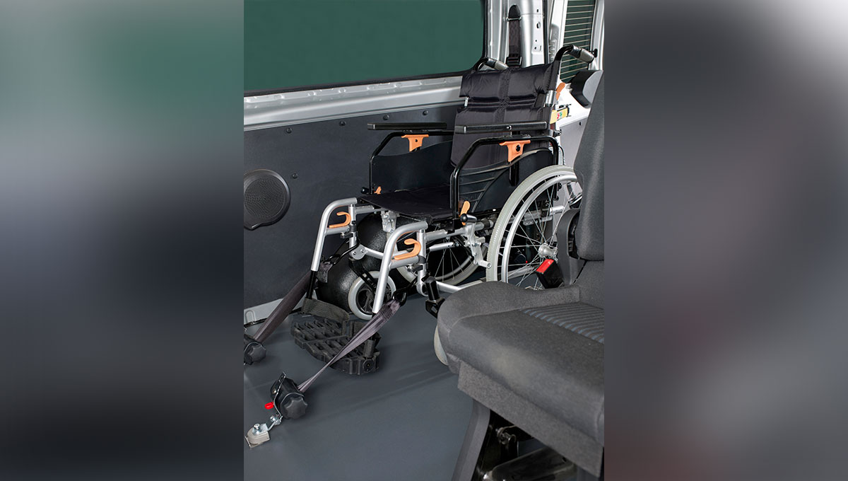 Ford Transit Trend Combi customised for wheelchair users