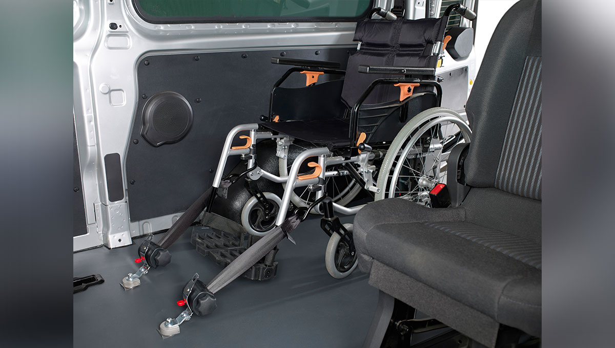 Ford Transit - Rear impact protection seat (RIPS)