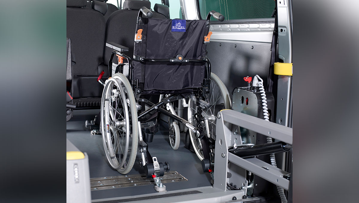 Ford Transit converted for Wheelchair Access