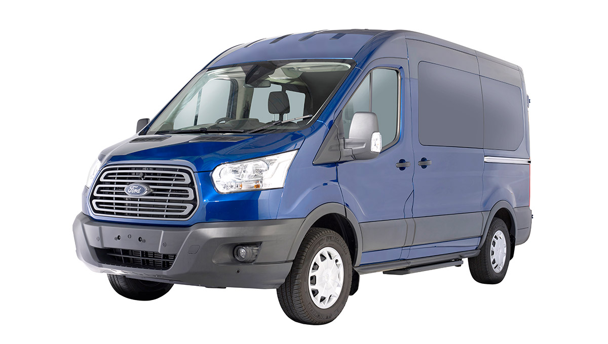 Ford Transit Minibus Trend front view