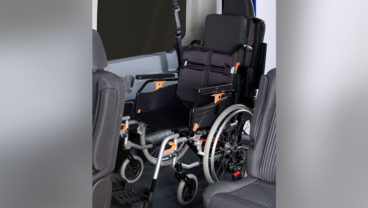 Rear impact protection seat (RIPS)