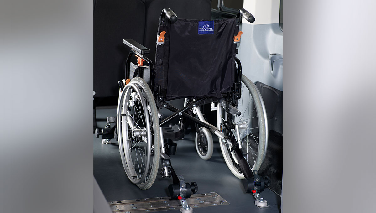 Ford Transit customised for wheelchair users