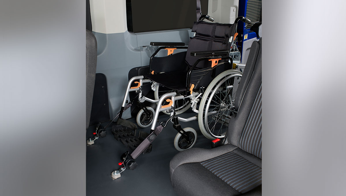 Ford Transit is customised for wheelchair users