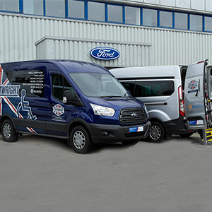 Motability Ford WAVs available to lease from Cartwright Mobility
