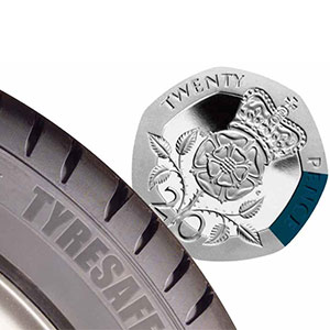 Is your tyre tread the right depth?