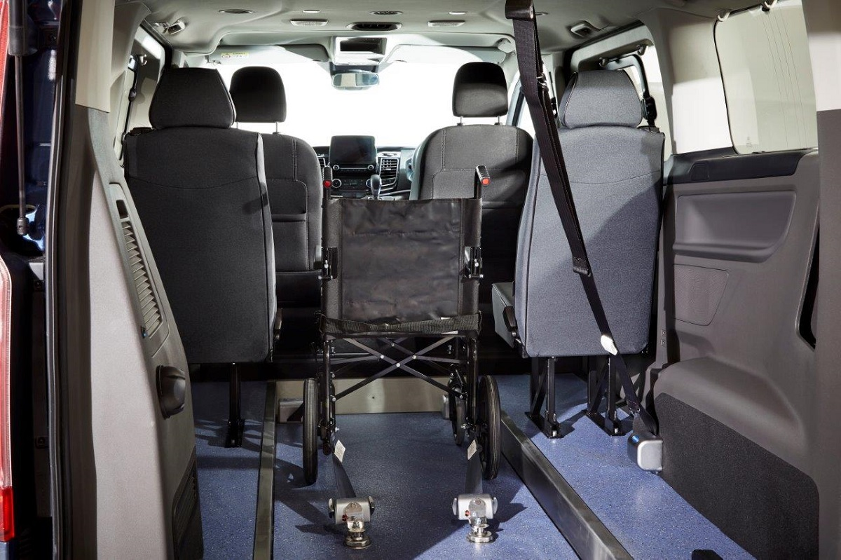Ford Tourneo Custom WAV from Cartwright Mobility